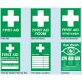 Rigid First Aid & Safety Signs
